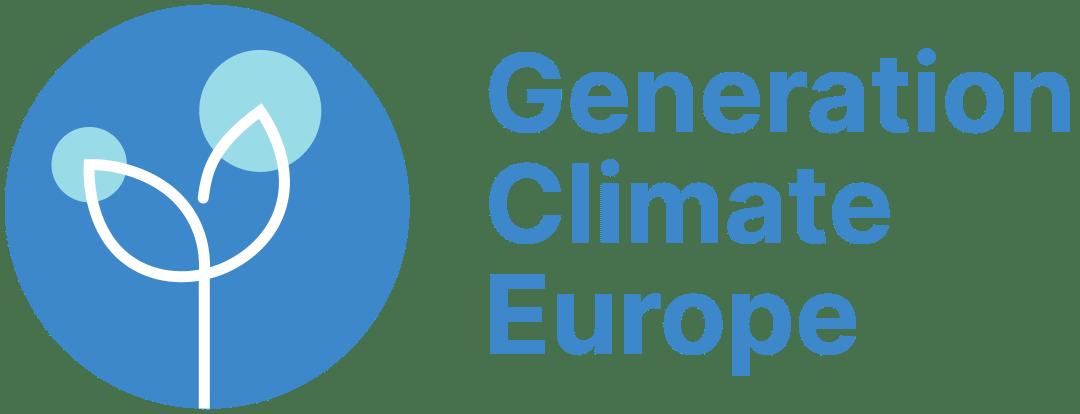 GCE : Generation Climate Europe Logo